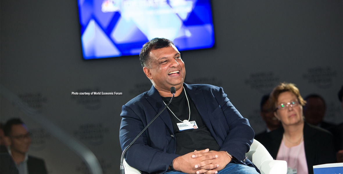 Anthony F. Fernandes, Group Chief Executive Officer, AirAsia, Malaysia; Young Global Leader Alumnus captured at the World Economic Forum on ASEAN in Kuala Lumpur, Malaysia, June 1, 2016. Copyright by World Economic Forum / Sikarin Fon Thanachaiary