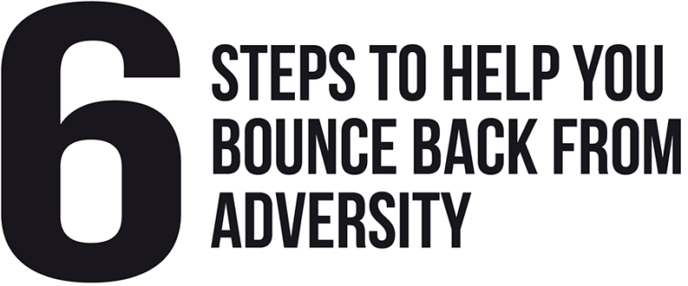 bounce back from adversity Resilience comes from the latin word resilio - to jump back- and is increasingly used in everyday language to describe our ability to cope with and bounce back from adversity.