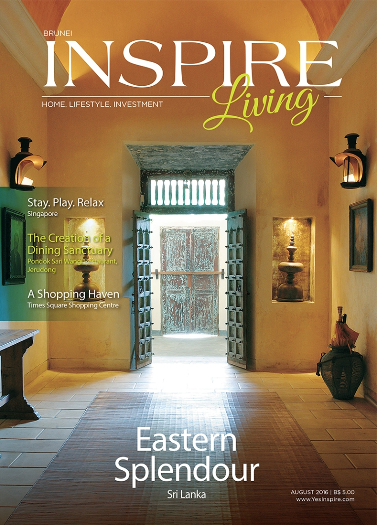 inspire living Aug 2016 cover